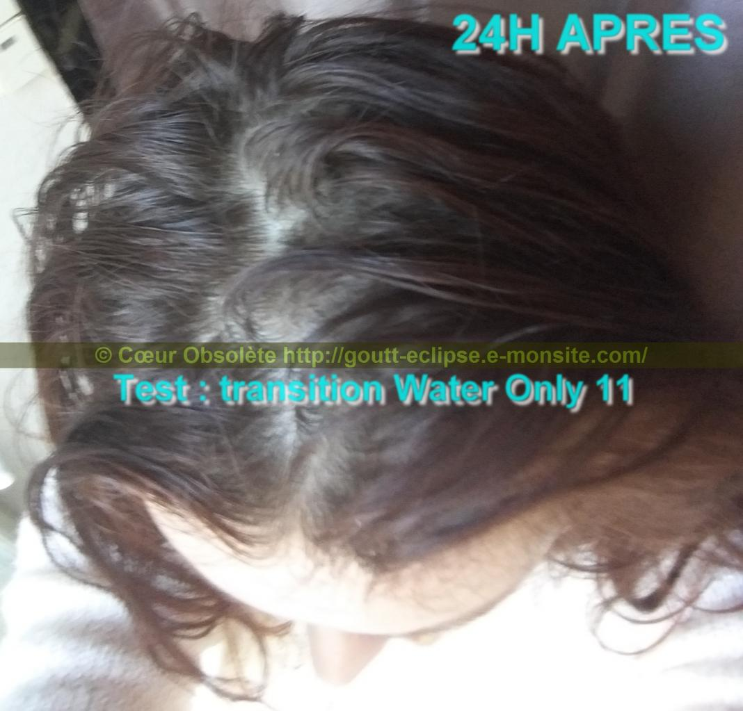 Test Transition Water Only 11 ème